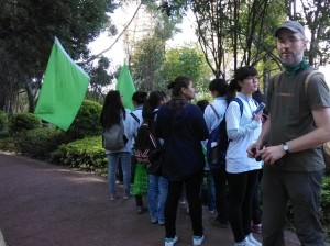EU-China NGO Twinning Participant Michael Bender Joins The River Walk Event in Yunnan