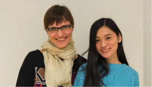 2014 Twinning partners Anneli Ohvril (Let's Do It, Estonia) & Yue Caixuan (Wuhu Ecology Center, China)