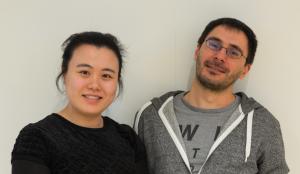 2014 Twinning partners Zhu Bingcheng (CLAPV, China) & (Alexandru Luta (Sandbag, UK)