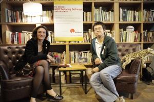 2014 Twinning partners Jitka Strakova (Arnika Association, Czech Republic) & Mao Da (Nature University Fund, China)