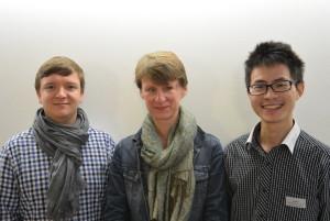 Dorothee Saar (Deutsche Umwelthilfe e.V.), Sönke Diesener (NABU) and Dong Jian (Tianjin Binhai Environmental Advisory Service Center)