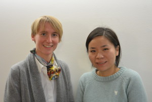 Dr. Laura Foster (Marine Conservation Society) and Yi RU (Shanghai Rendu Ocean Development Center)