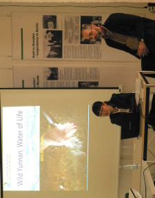 YEDI and Grüne Liga presenting their common work focus on water