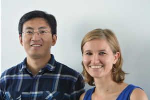 Louisa Kistemaker (A tip: tap e.V.) and Xu Rui (Eco-Watch Institute)