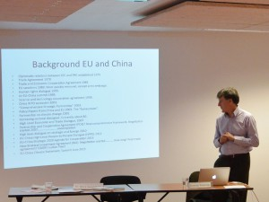 Duncan Freeman on the current state of EU-China relations