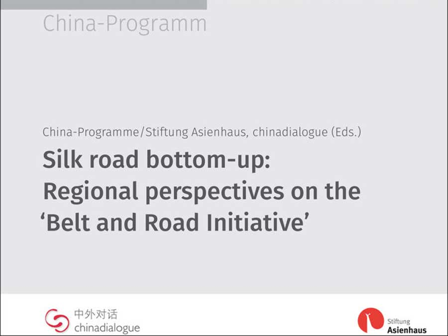 """Twinner Arianna Americo publishing about the """"One Belt one Road"""" initiative"""