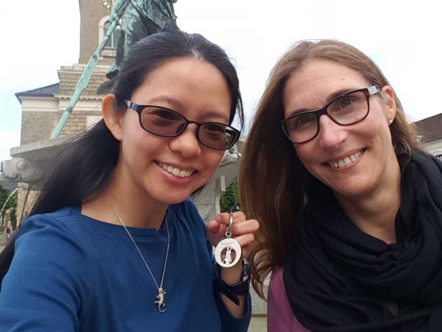 2017 TWINNERS Anja (WWF Germany) and Vivian (HK Bird Watching Society) told all about their experience