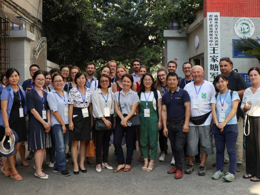 EU-China NGO Twinning Workshop 2018 in Chengdu