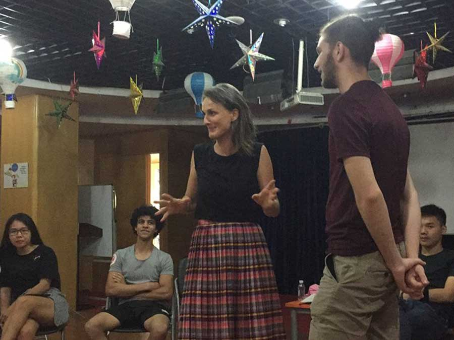 Theater and LGBT Workshop in Chengdu