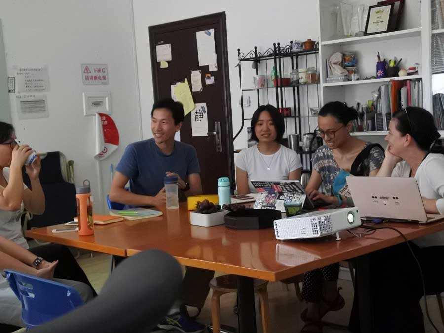 Diary Entry: Kirsten at the AIFEN office meeting