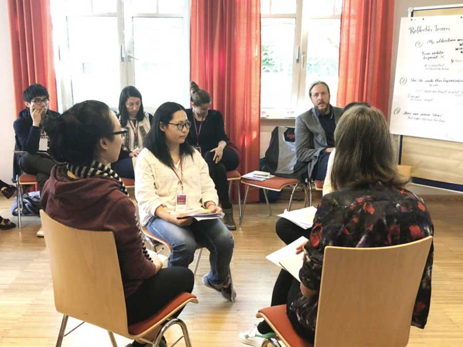 Capacity Building and Reflection Workshop in Vienna