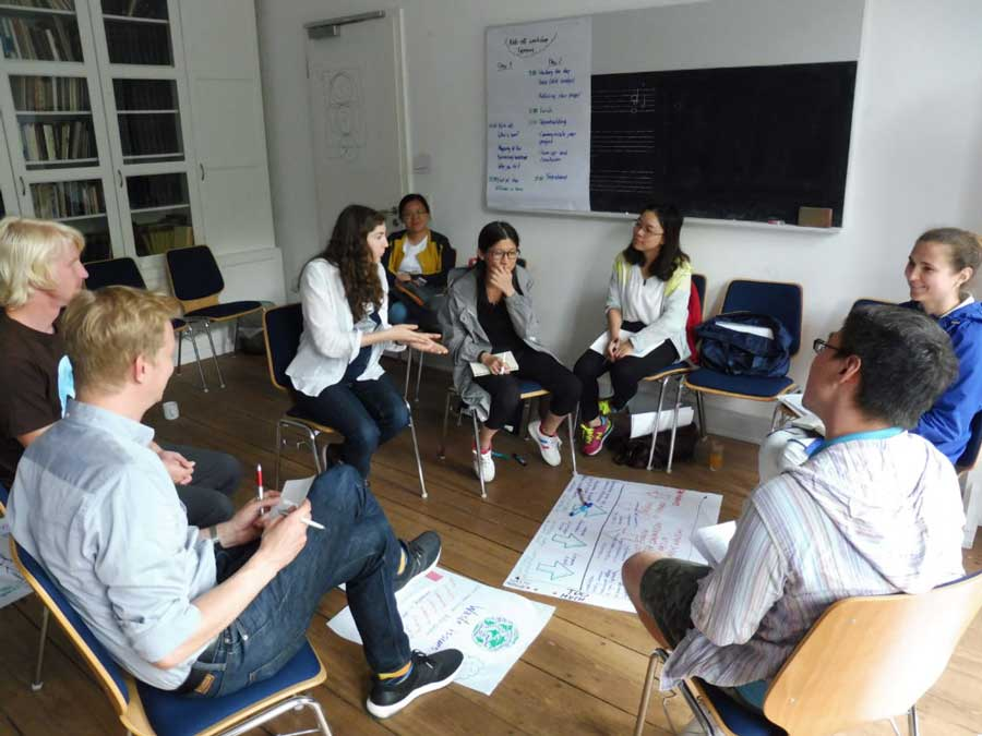 EU-China NGO Twinning at C20 –  A Capacity-Building Workshop in Hamburg 2017