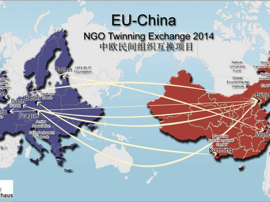 The tendering for the 2015 EU-China NGO Twinning Exchange Program is open. Apply now!